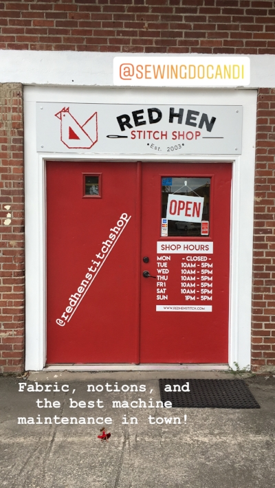 Red Hen Stitch Shop and The Sewing Doc in Marietta GA