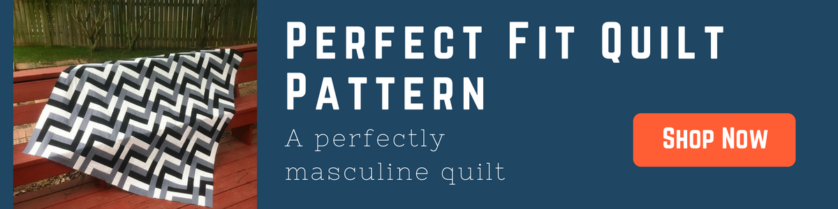 Perfect Fit Quilt Pattern by HollyAnne Knight of String & Story