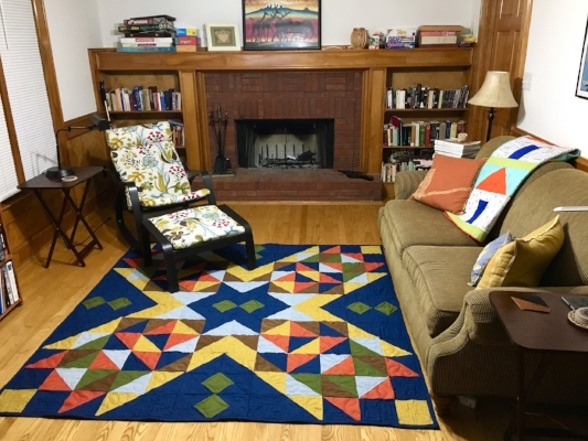 How to Make a Quilt Rug with HollyAnne Knight of String & Story