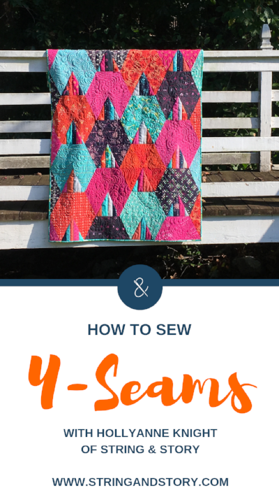 How to Sew Y-Seams with HollyAnne Knight of String & Story