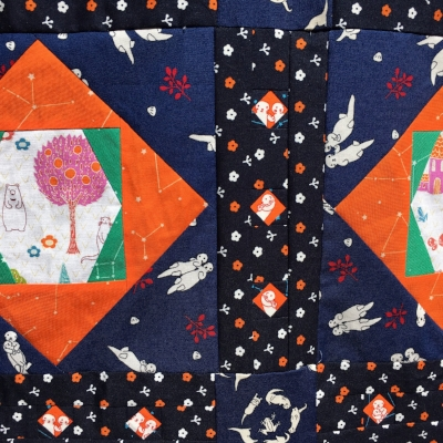 Orion Quilt Pattern by HollyAnne Knight of String & Story