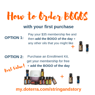 How to Order doTERRA BOGOs with HollyAnne Knight of String & Story