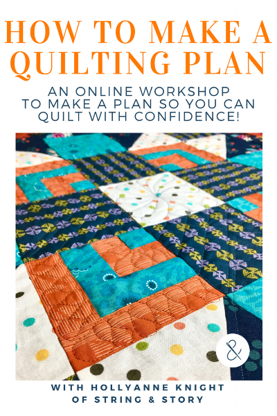 How to Make a Quiling Plan Online Class with HollyAnne Knight of String & Story