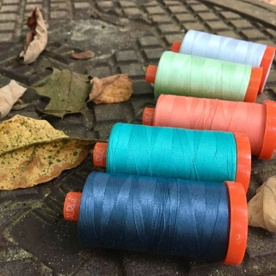 Aurifil Thread from HollyAnne Knight of String & Story