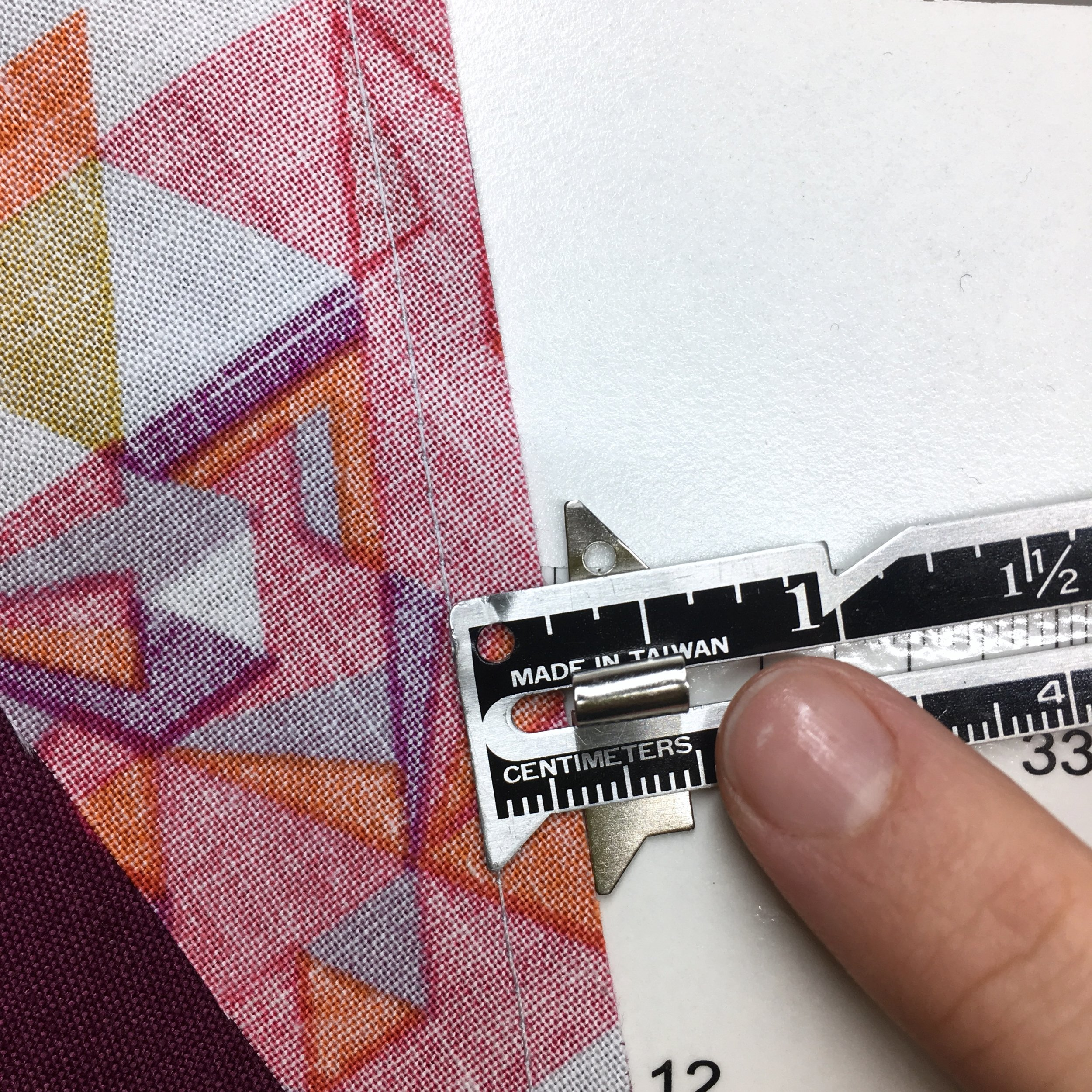 How to Sew a Quarter Inch Seam with HollyAnne Knight of String & Story