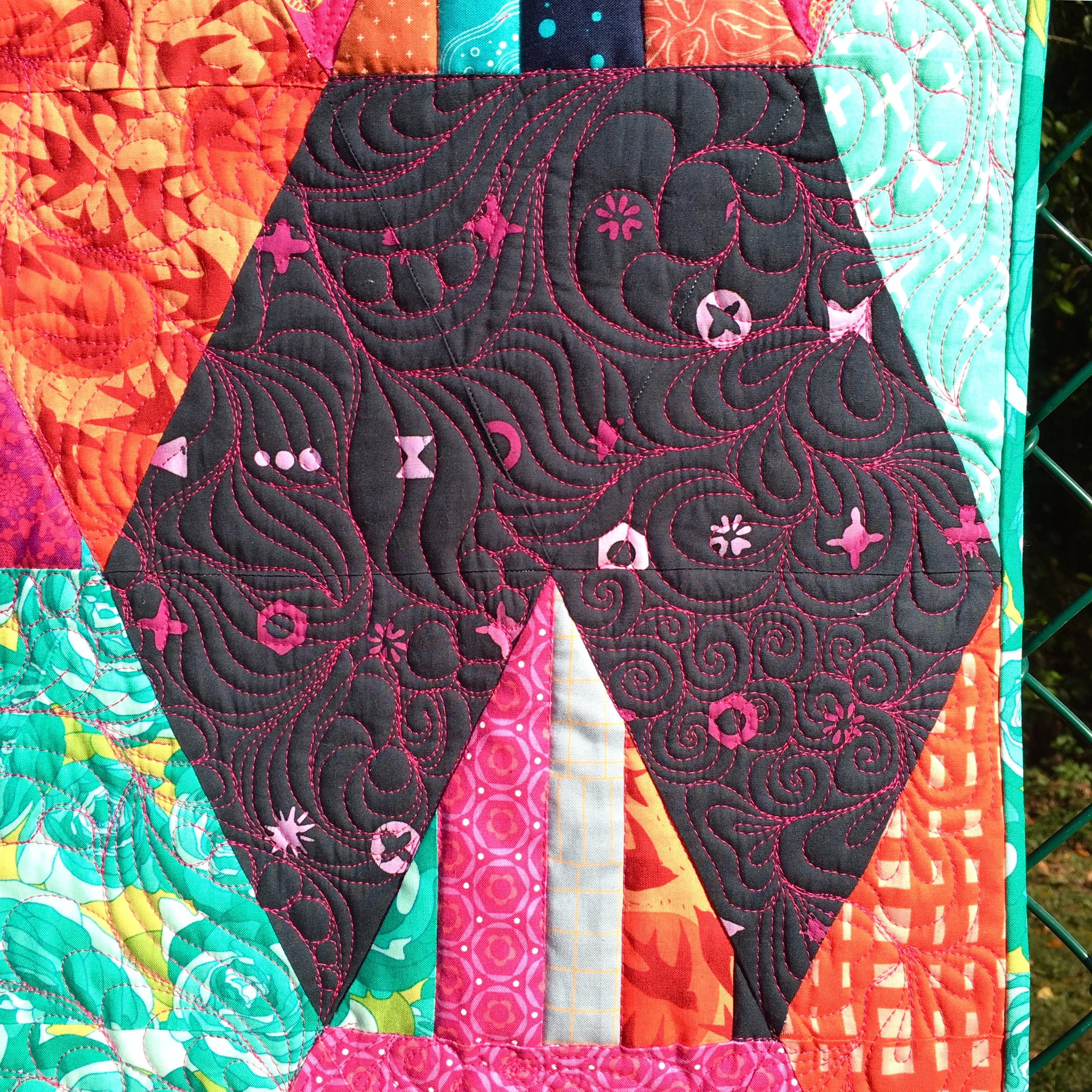 Spatial Awareness and Free Motion Quilting with HollyAnne Knight of String & Story