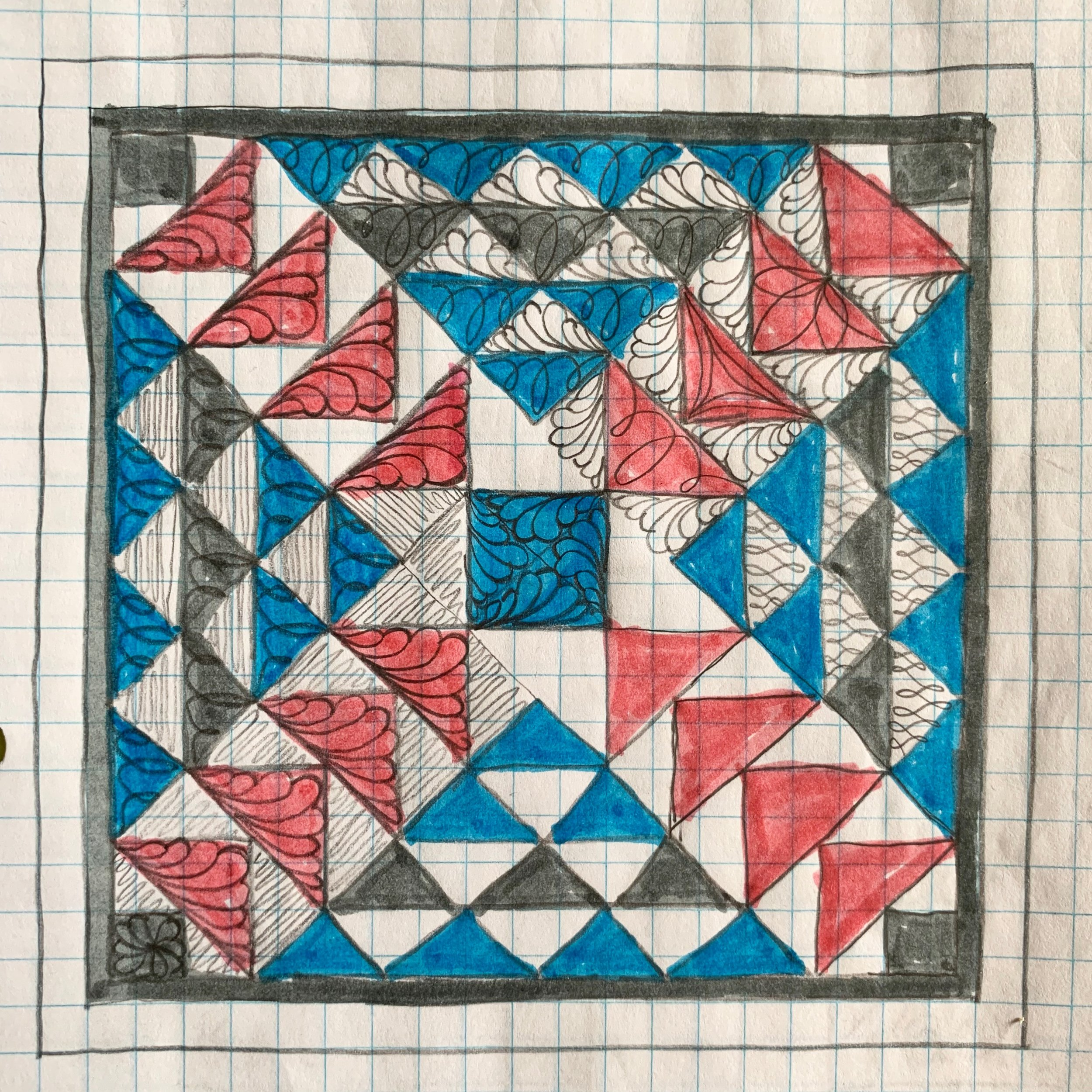 Dart Quilt Pattern by Natalia Bonner -Introduction to Quilting Plans with HollyAnne Knight of String & Story