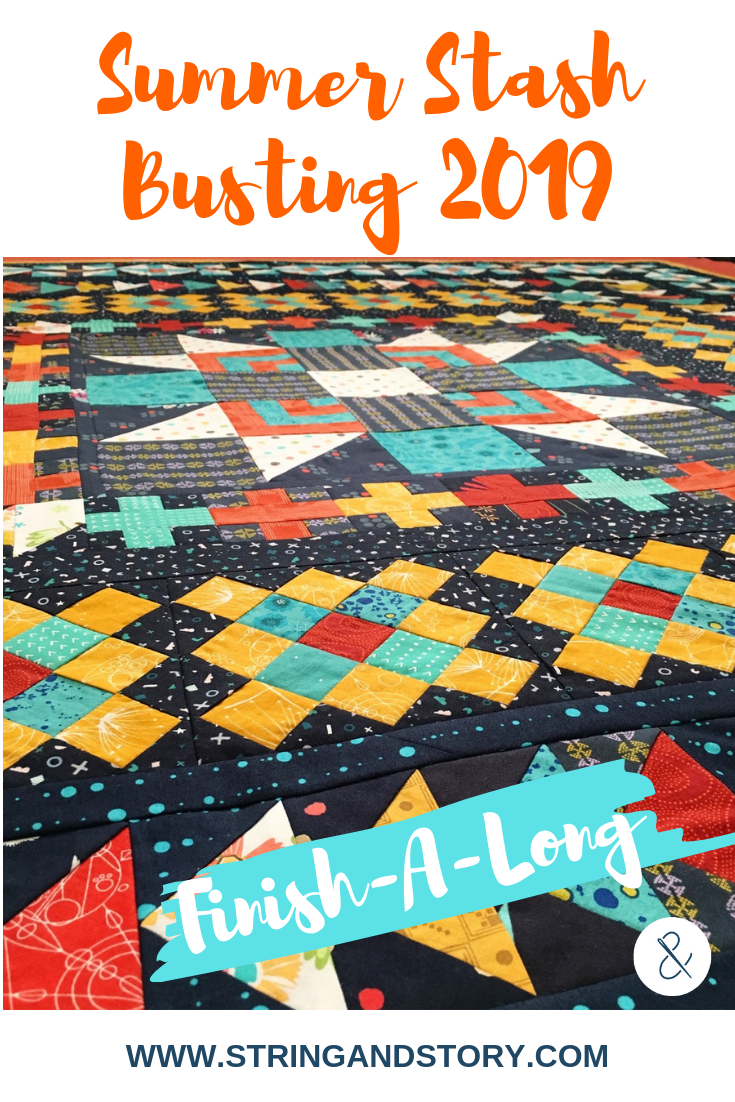 Summer Stash Busting 2019 Finish-A-Long with HollyAnne Knight of String & Story