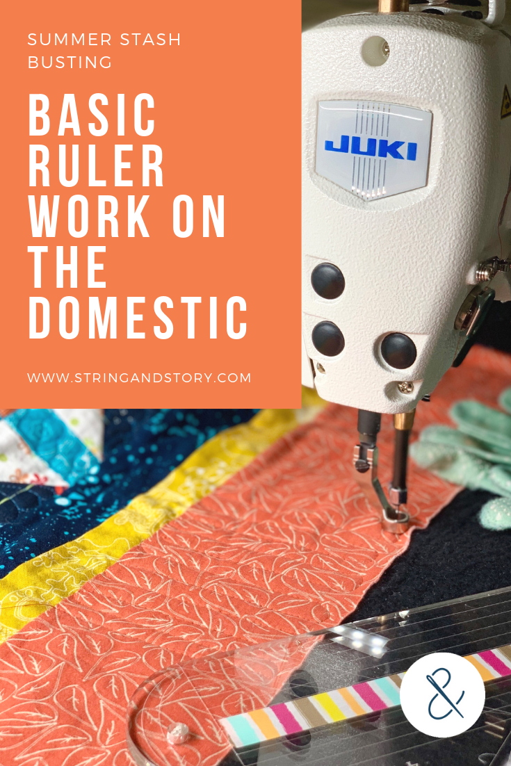 Basic Ruler Work on the Domestic with HollyAnne Knight of String & Story