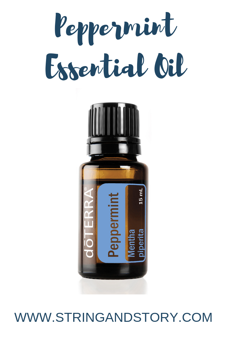 How to Use Peppermint Essential Oil With HollyAnne Knight of String & Story