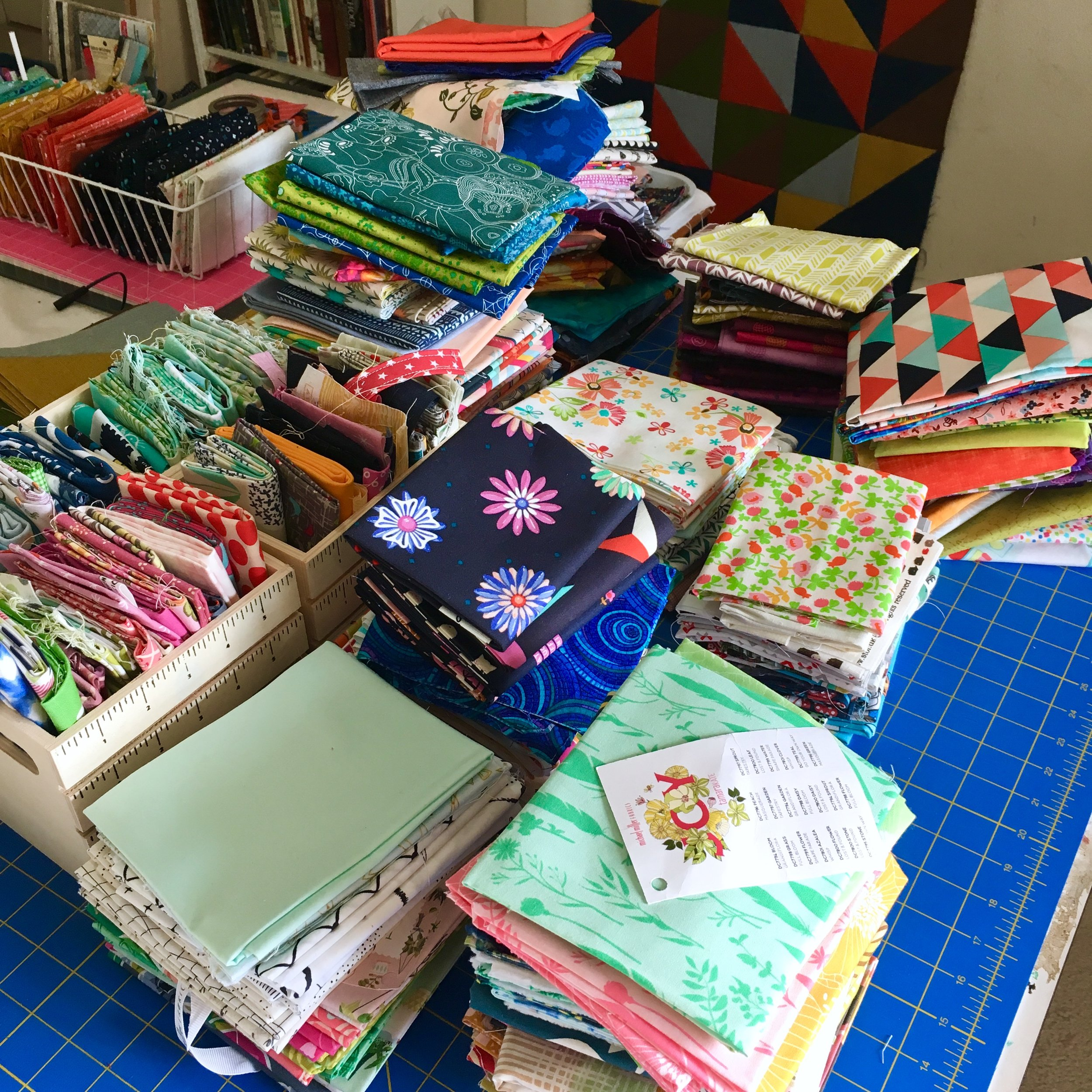 Why Quilters Should Ditch Stash Culture by HollyAnne Knight of String & Story