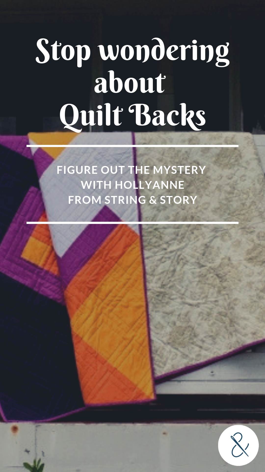 Quilt backs are one of the most efficient ways to bust some serious stash. Let's take a look at several options for making a back.-- click thru for all my tips!