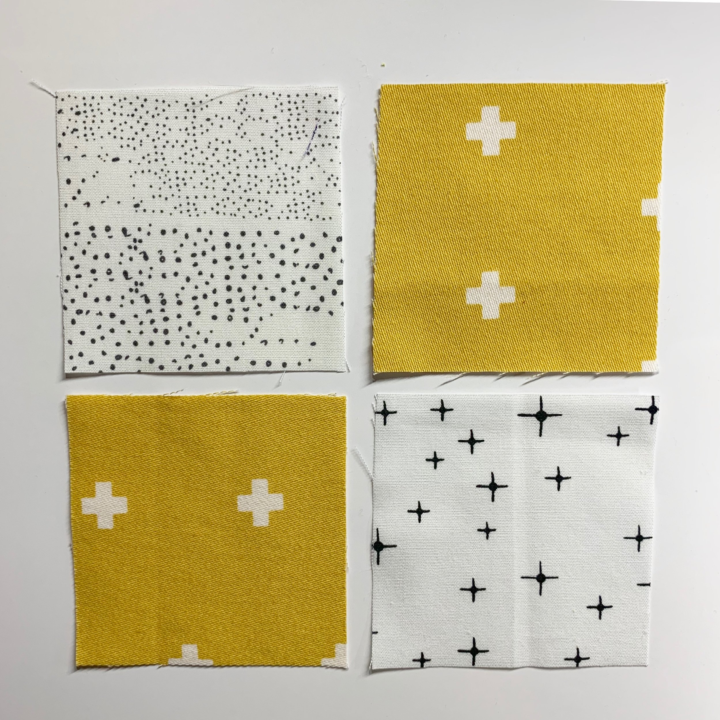 How to Piece Four Patches (Patchwork Quilting Tutorials for