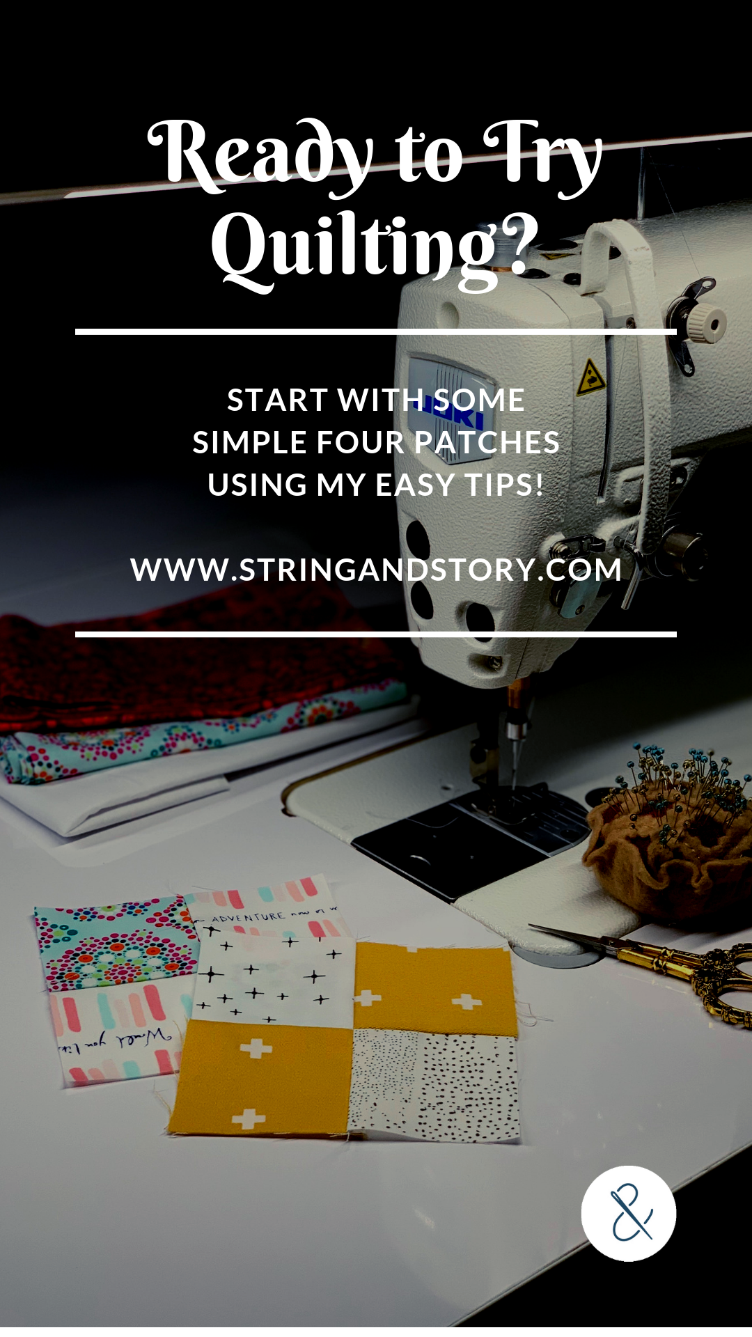 Quilting is a wonderful hobby-- relaxing yet interesting, challenging yet fun. But knowing where to start can be hard. Come take a stab at your first four patch with my easy, friendly tutorial! C'mon-- click on thru!