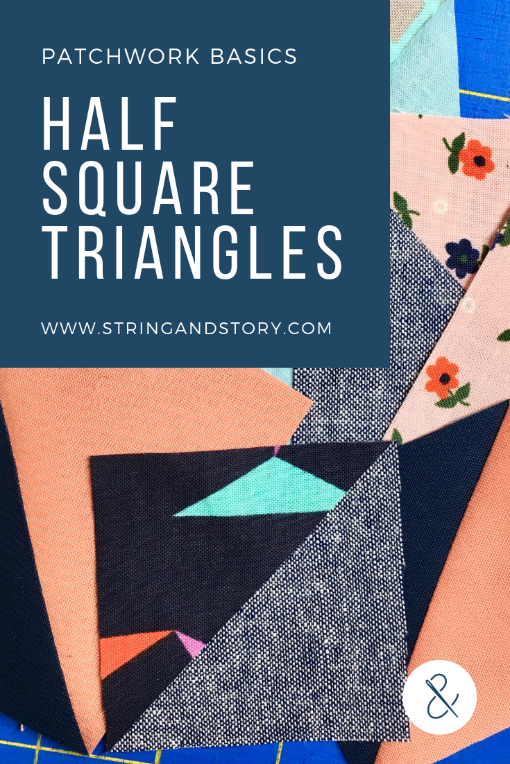 A common, versatile patchwork unit, half square triangles are the foundations of many quilt blocks and a great introduction to sewing with triangles. Click to learn several ways to make HSTs and discover your favorite!