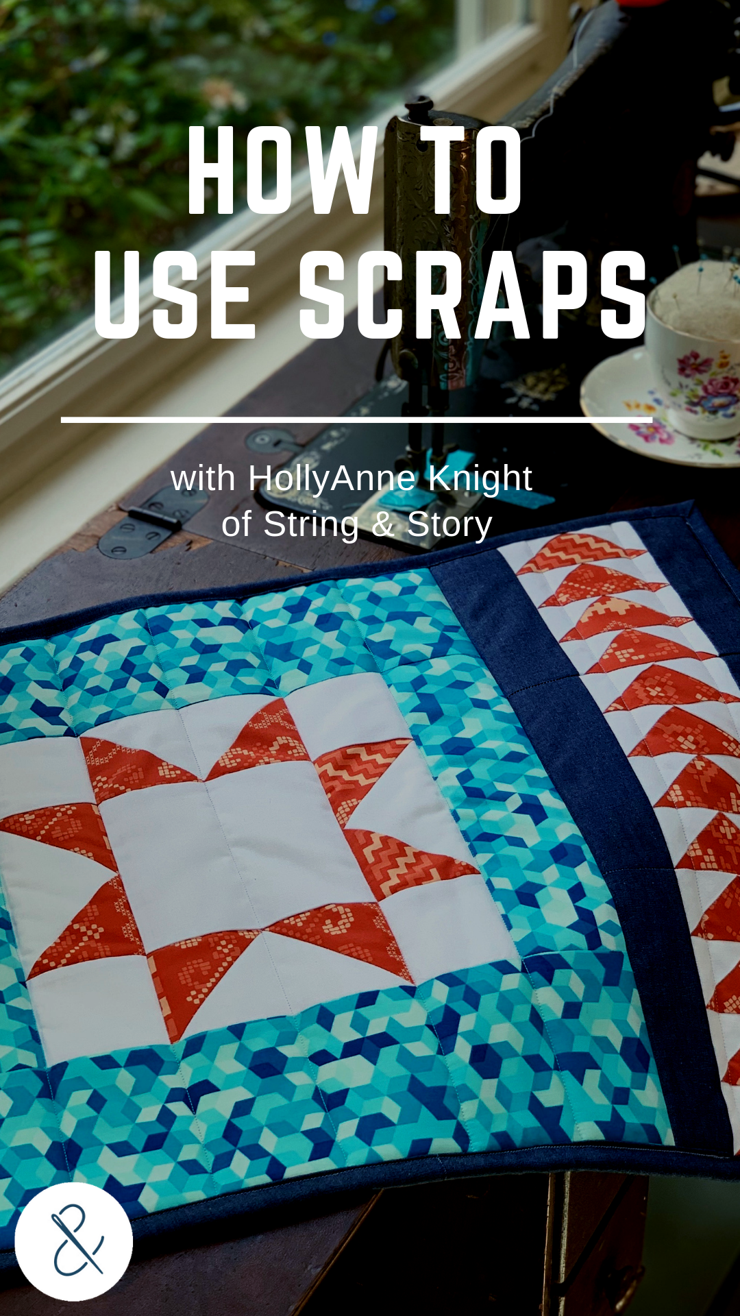 Most quilters love to save their scraps, even just stuffed in bins or totes, but it can be a challenge to know how to regularly and effectively use them. Let's take a look at several ways that you can make using scraps part of your regular quilty fun.