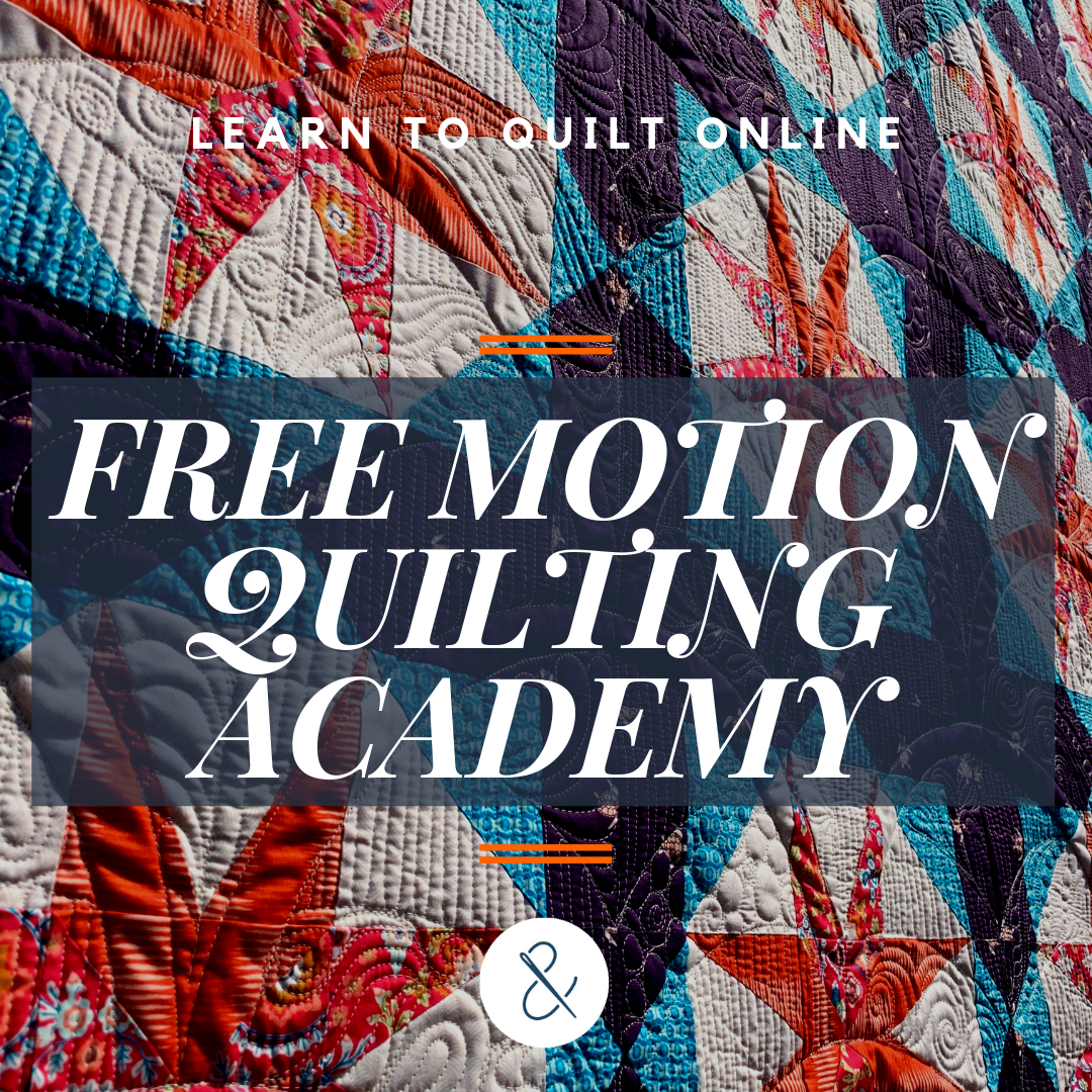 Free Motion Quilting Academy with HollyAnne Knight of String & Story