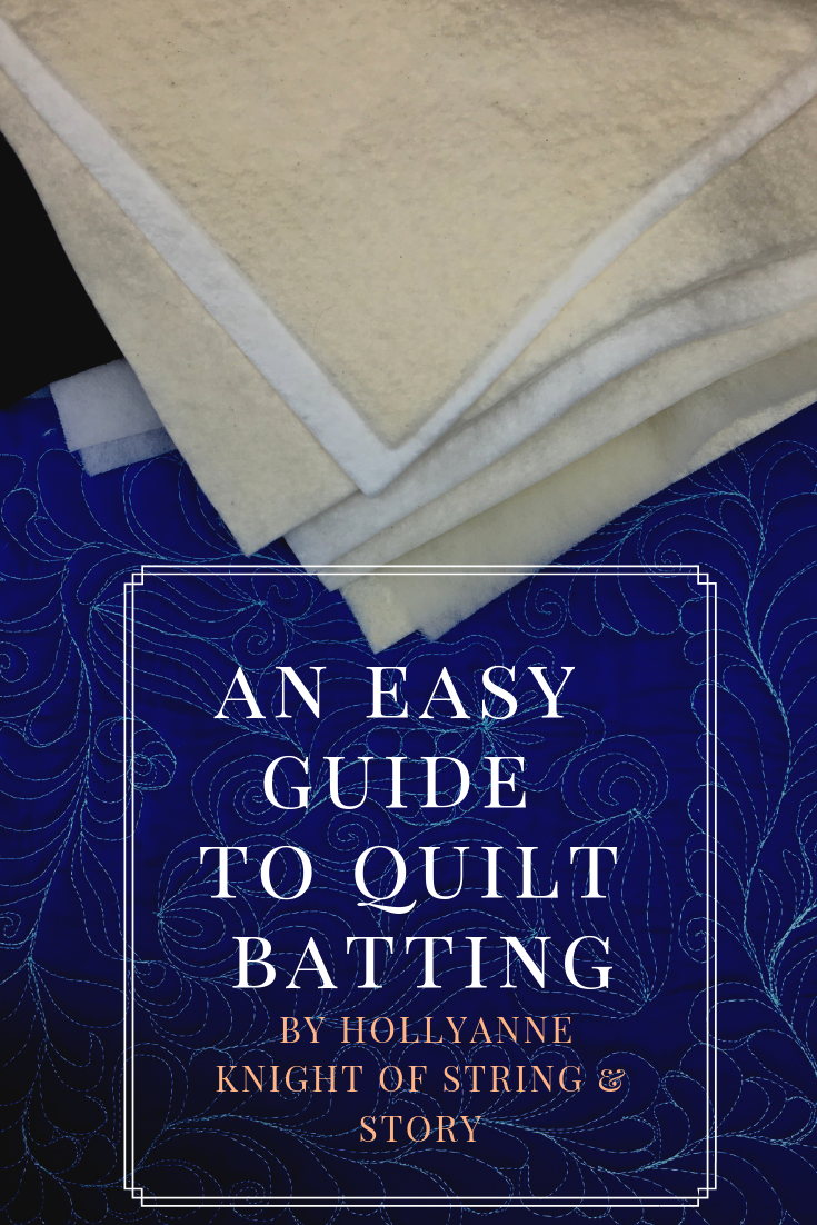"How do you choose the perfect batting for your quilted project? Wondering about the pros and cons of different quilt batting fibers? I'm an ""all natural"" kind of quilter, but I want to you to have all the info so you can choose the best batt for you and your project!"