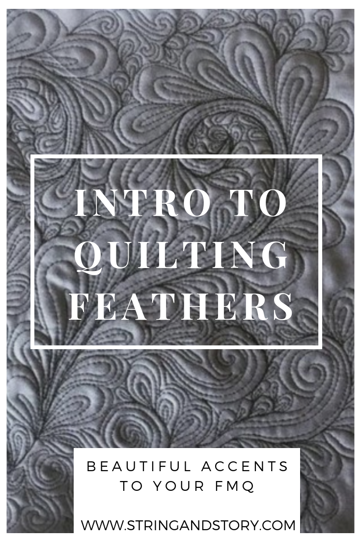 Feathers are a classic, well-loved quilting motif, but they are finding more and more of a home in modern quilting as well. This tutorial will show you how to quilt feathers with confidence-- click to get started!
