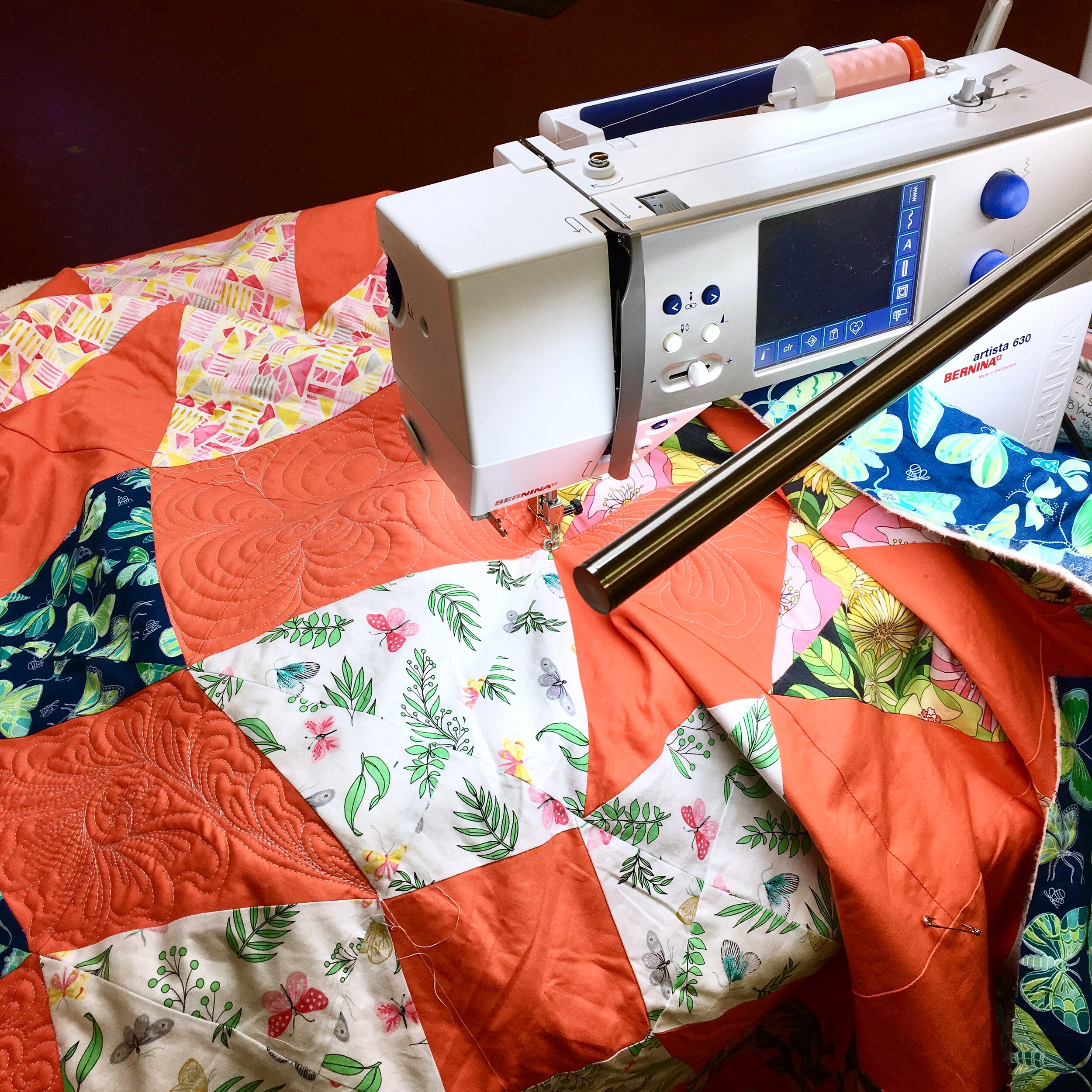 What Machine Do You Need for Free Motion Quilting? with HollyAnne Knight of String & Story