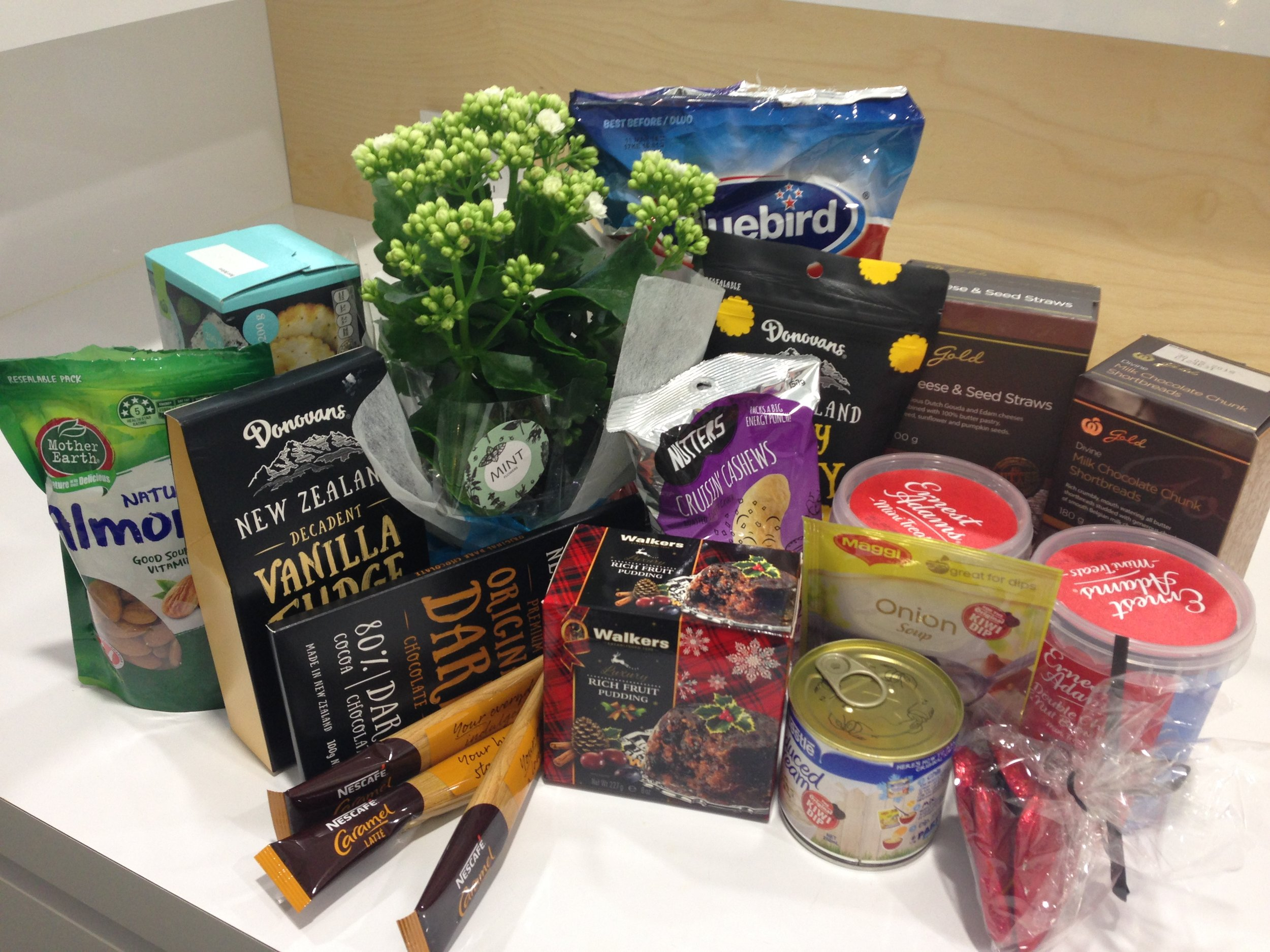 Selection of christmas goods