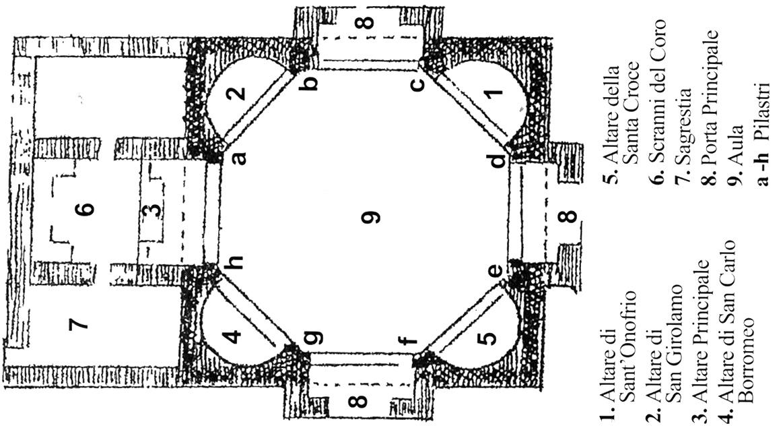 Chiesa floor plan