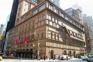 Carnegie Hall, 881 Seventh Avenue, NYC