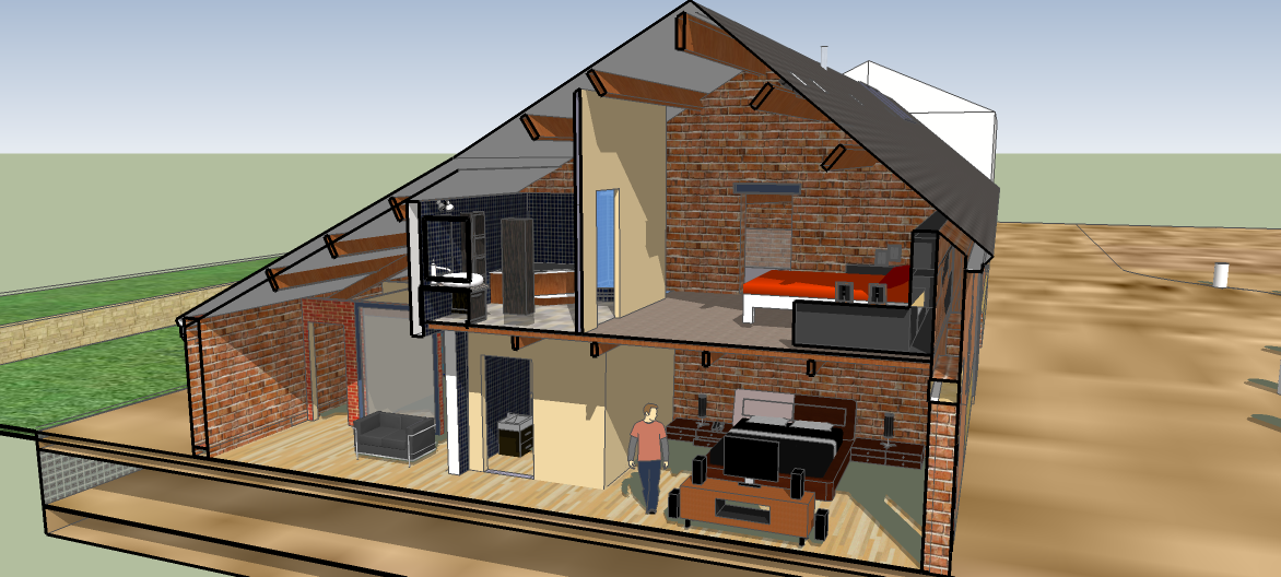 Barn 1 residentail bedrooms cross section.png