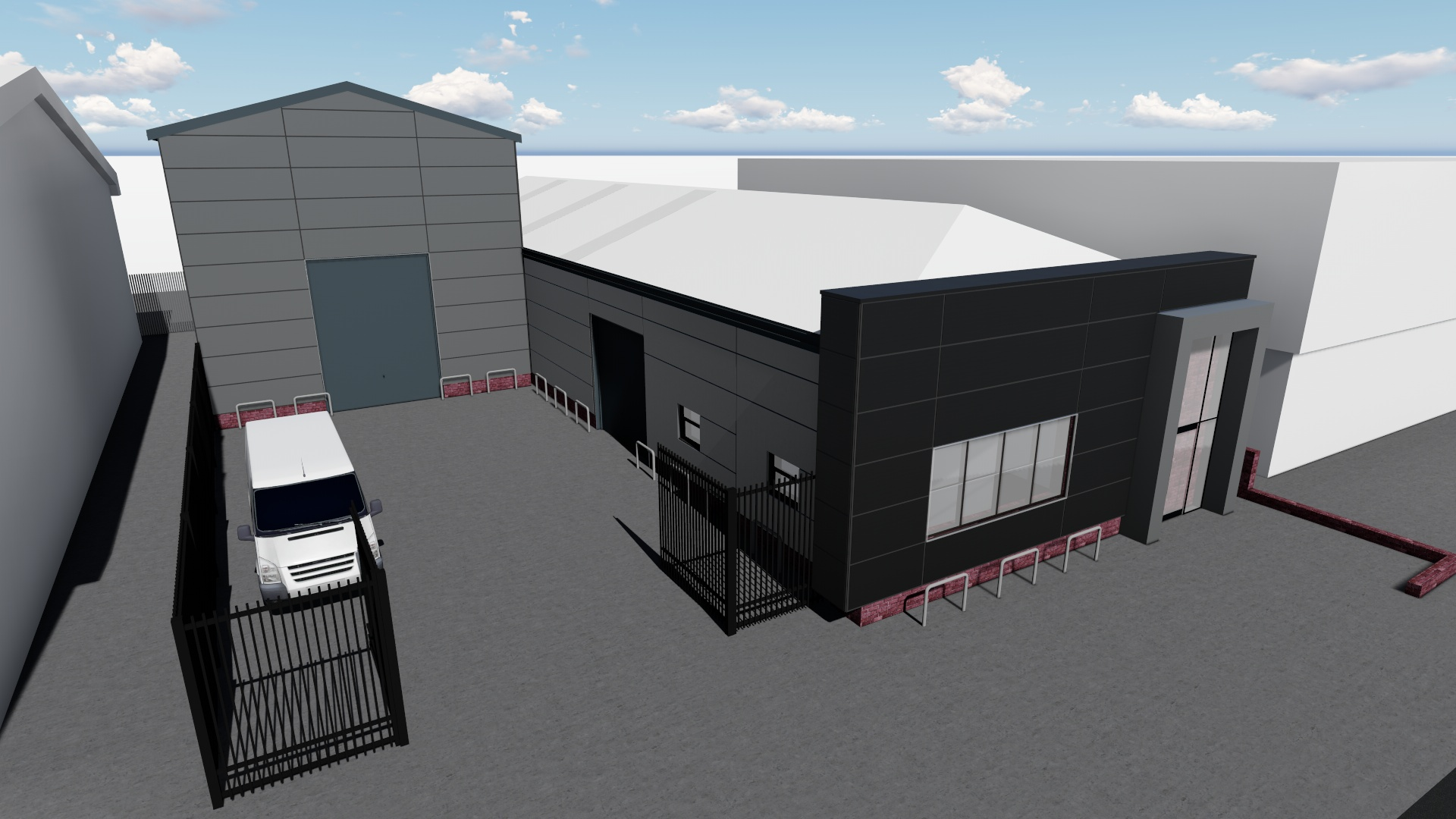 Proposed warehouse 2
