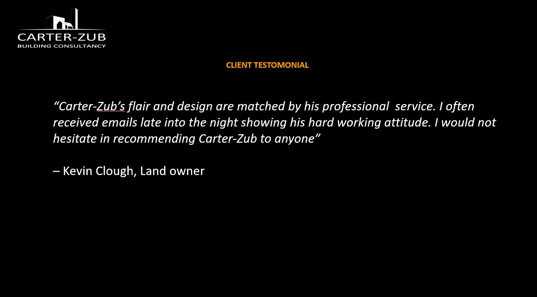 Carter-Zub, Self Build