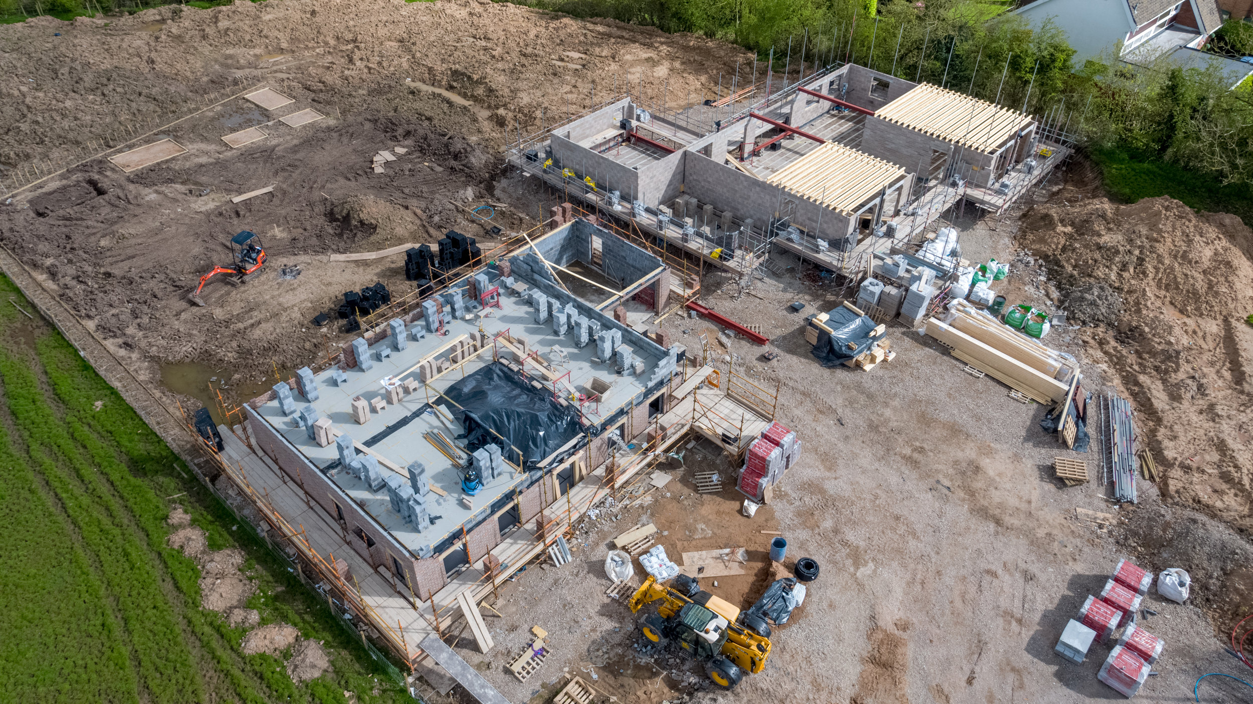 Aerial Photography of Construction Stage - Provided by Airpixa