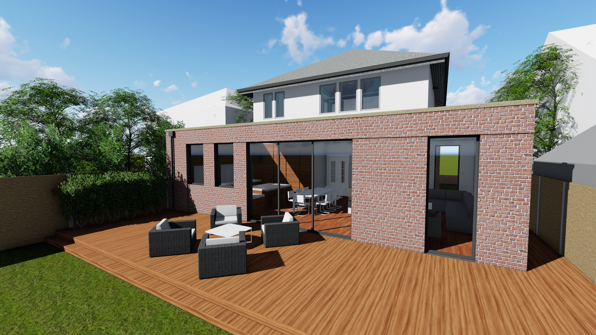 Carter-Zub - Proposed Extension Architectural Visualisation
