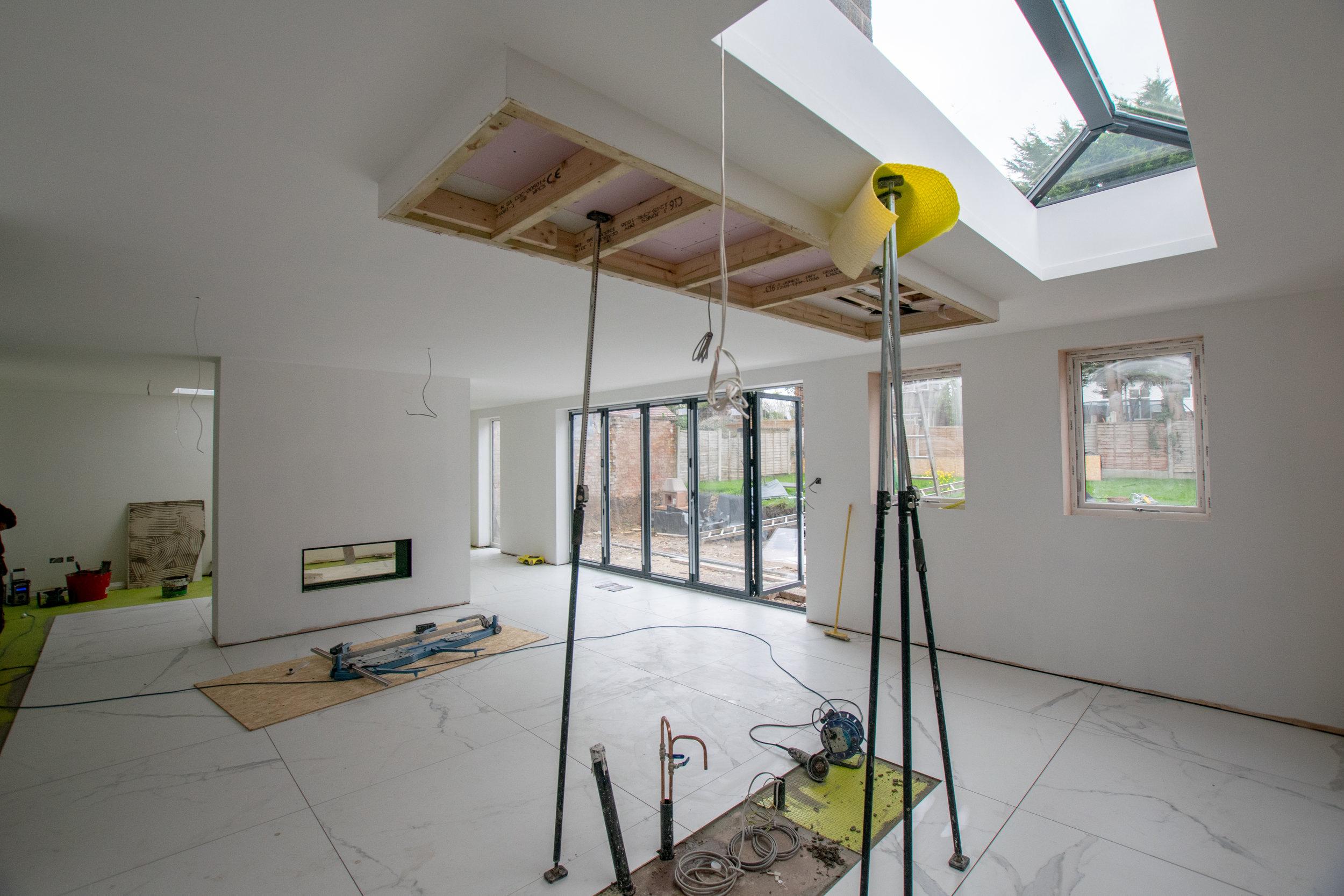 Carter-Zub - Under Construction, Open Plan Living