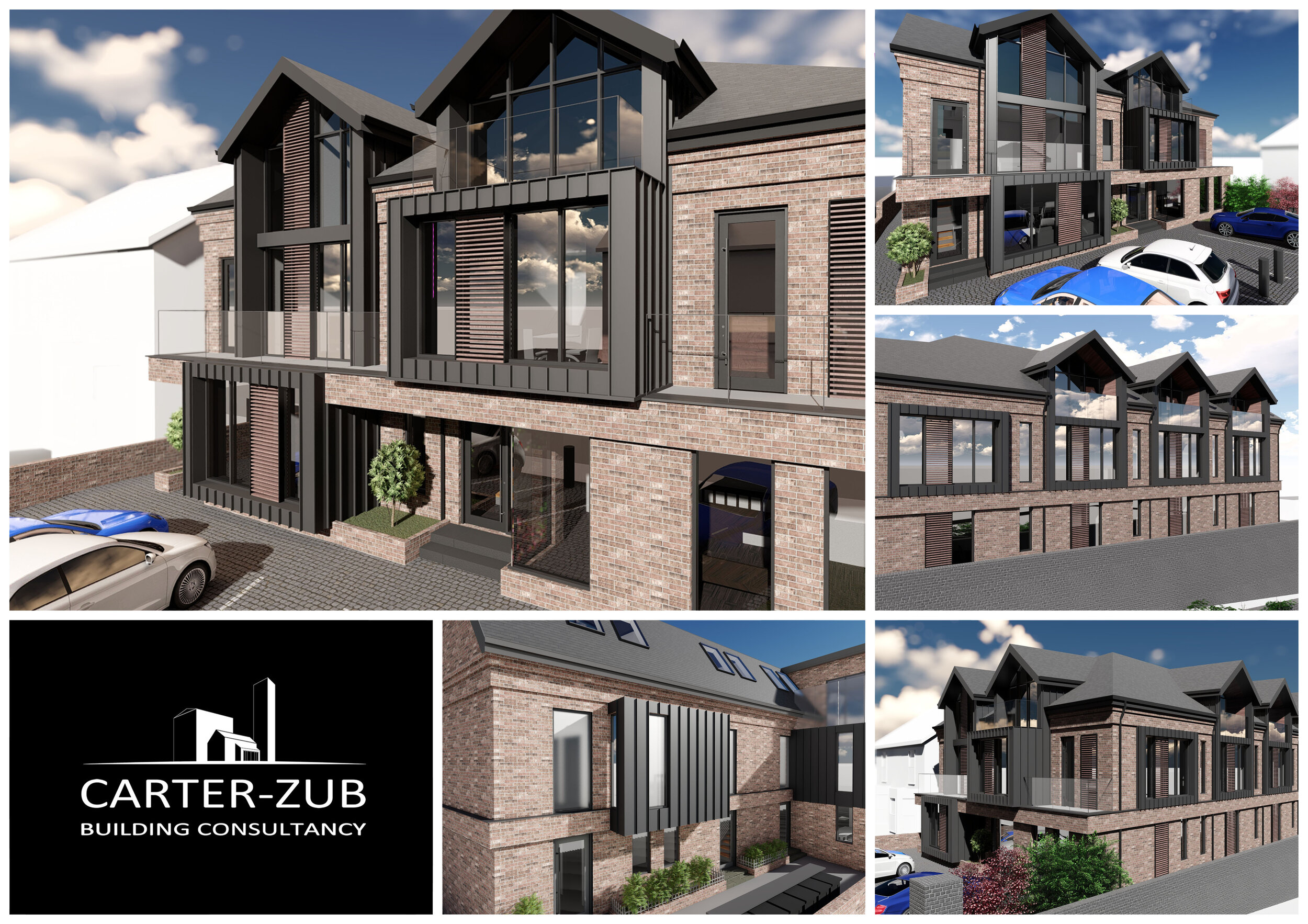 Breck Point -5 Luxury Townhouses -