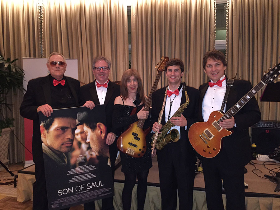 Variety pop/rock/jazz band at The Peninsula Hotel in Beverly Hills at an Oscar party.