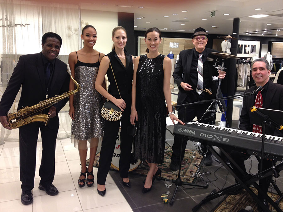 Jazz Trio at Bloomingdale's for fashion show.
