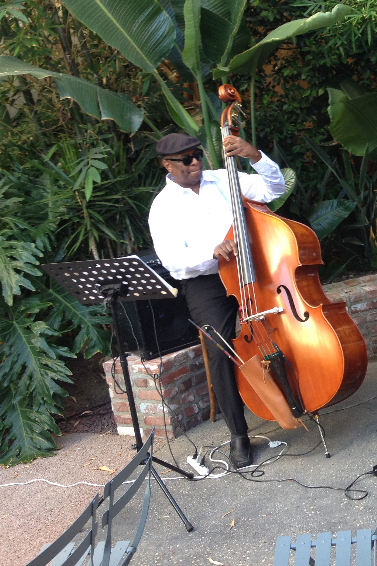 Latif - Upright bass and electric bass