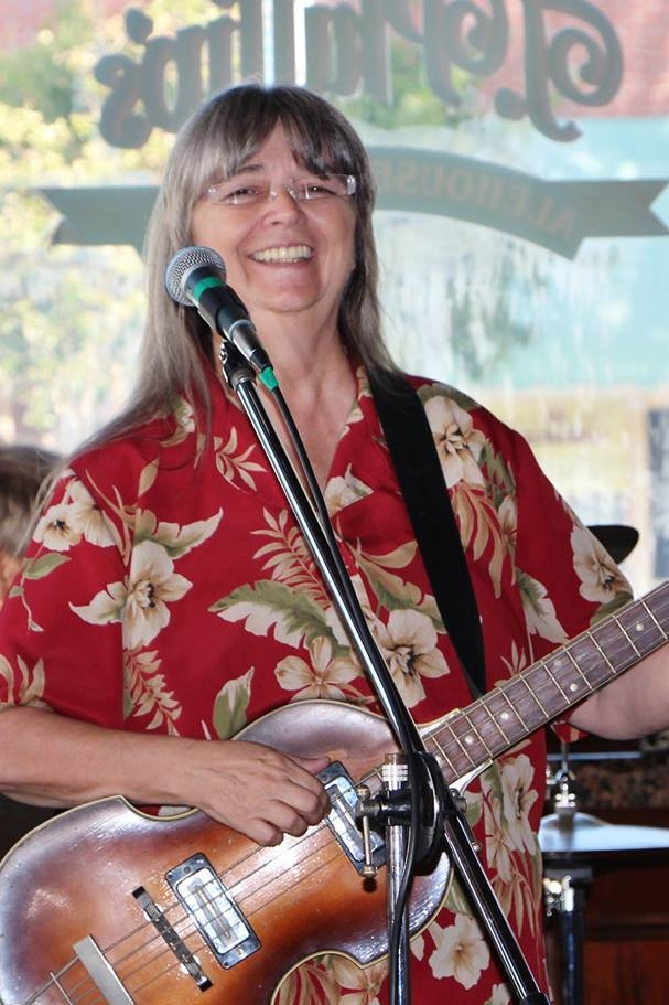 Cherie Conner - Bass, guitar, ukulele and vocals