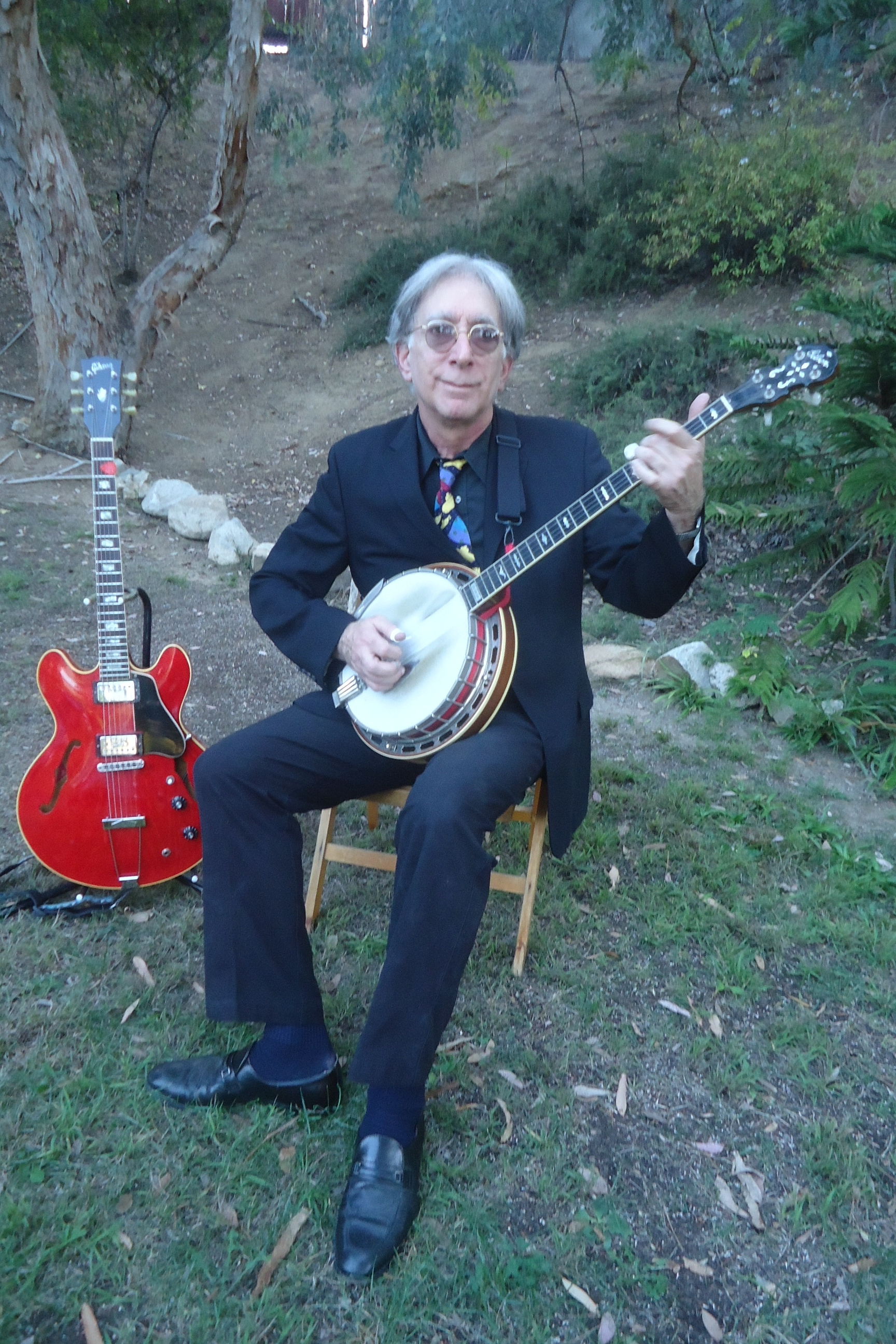 Bob Cesarone - Guitar, banjo and harmonica