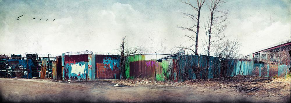 Junkyard Fence