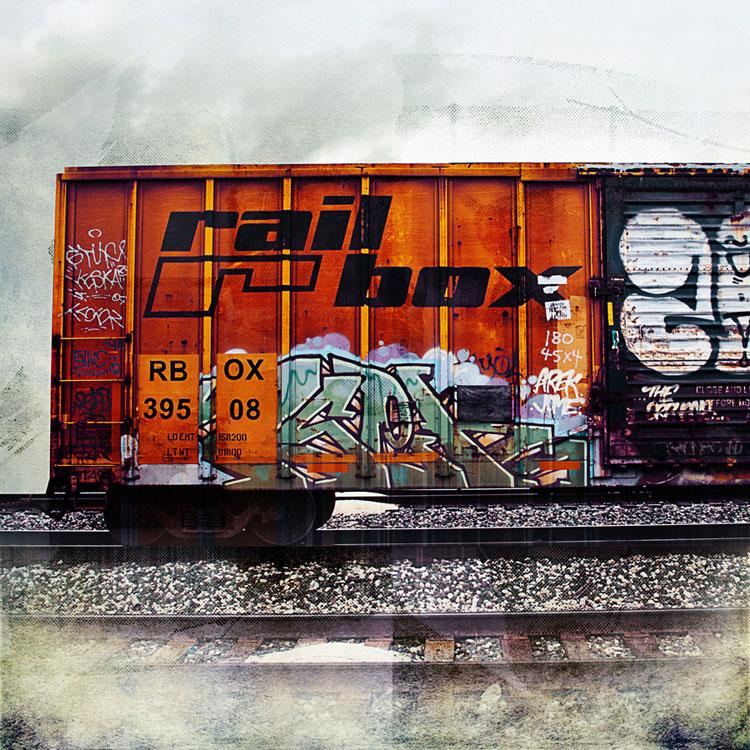 Rail Box Car