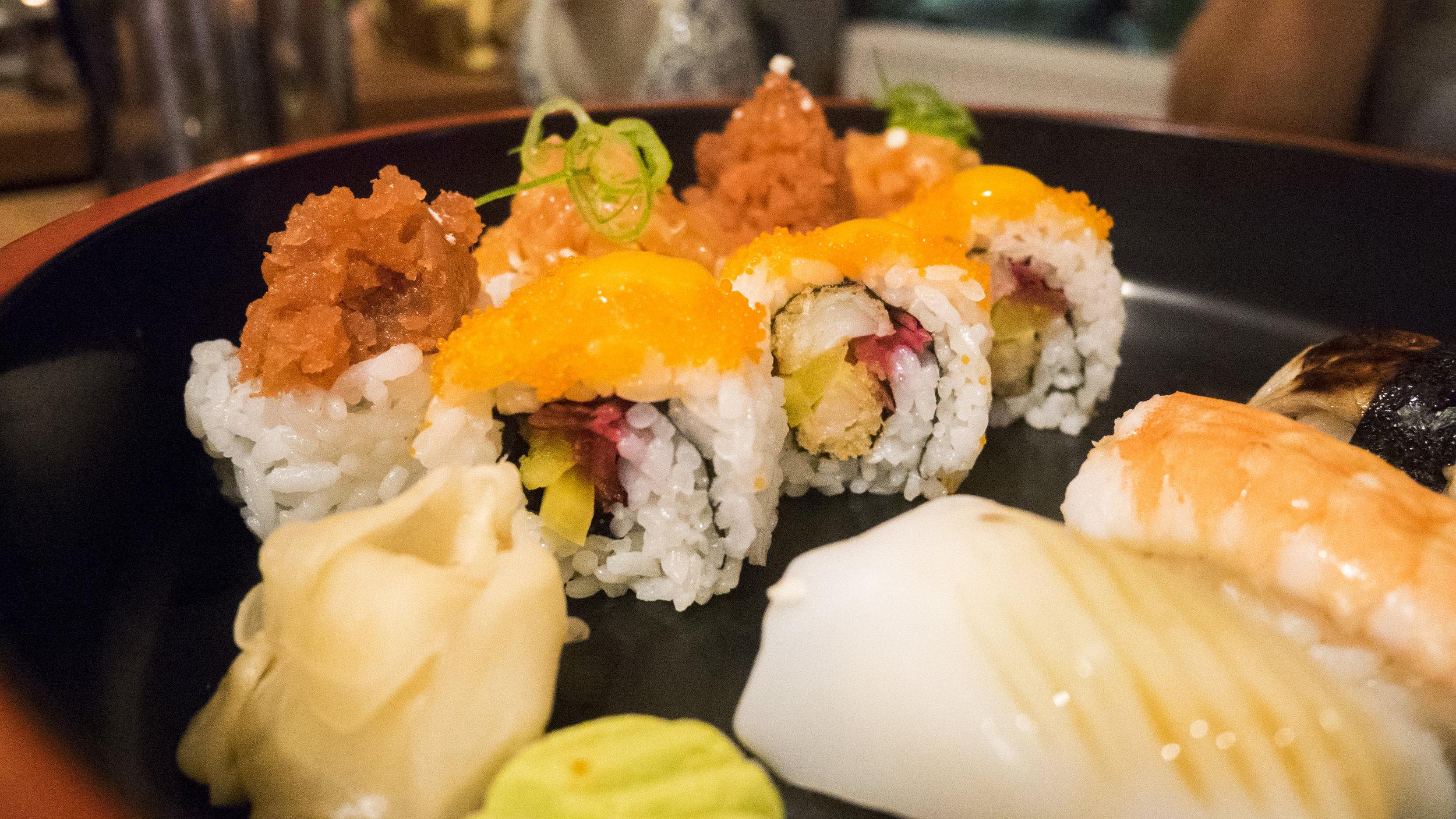 Sushi im Orka