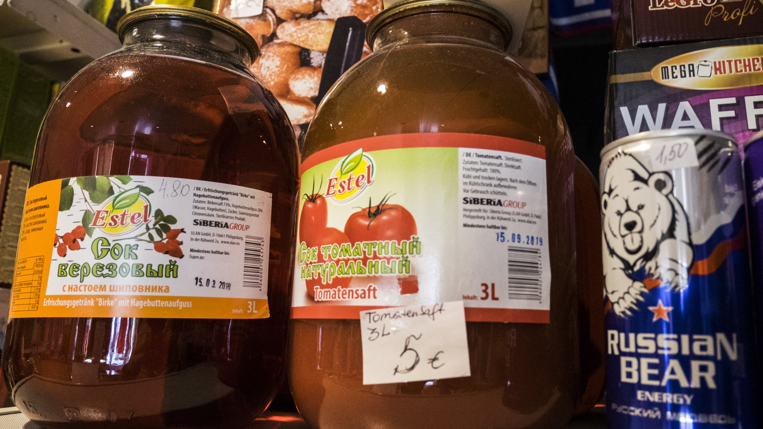 Teremok russischer Supermarkt in Wien