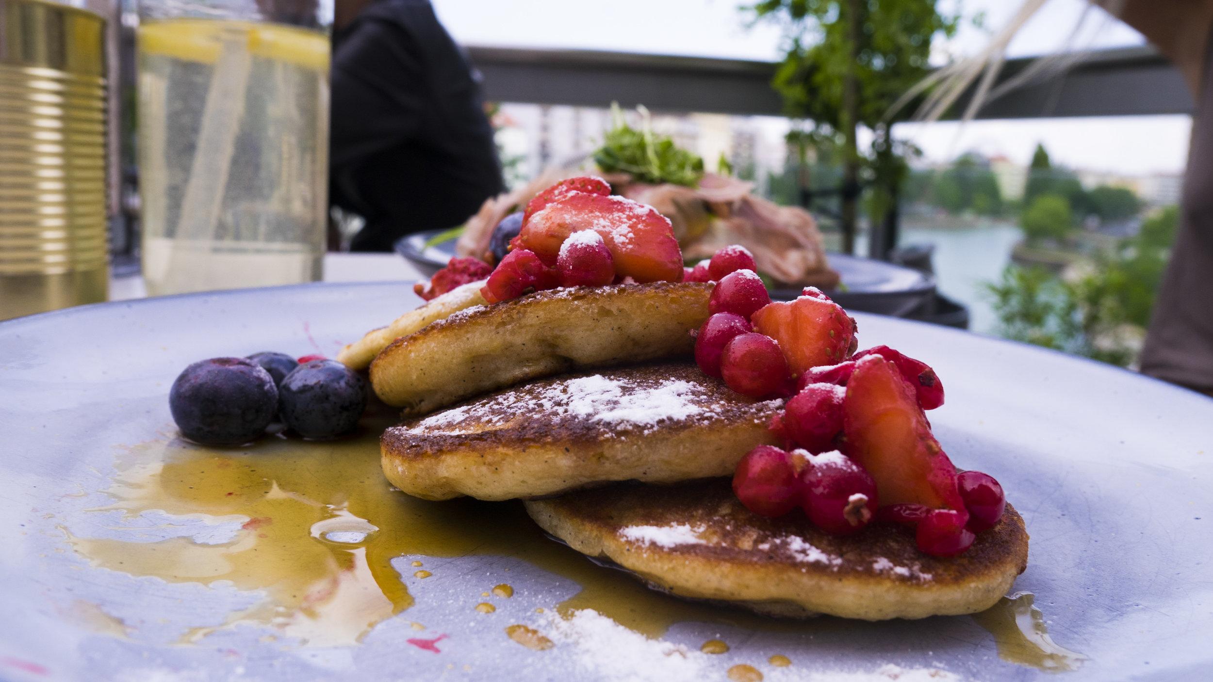 Pancakes im Klyo