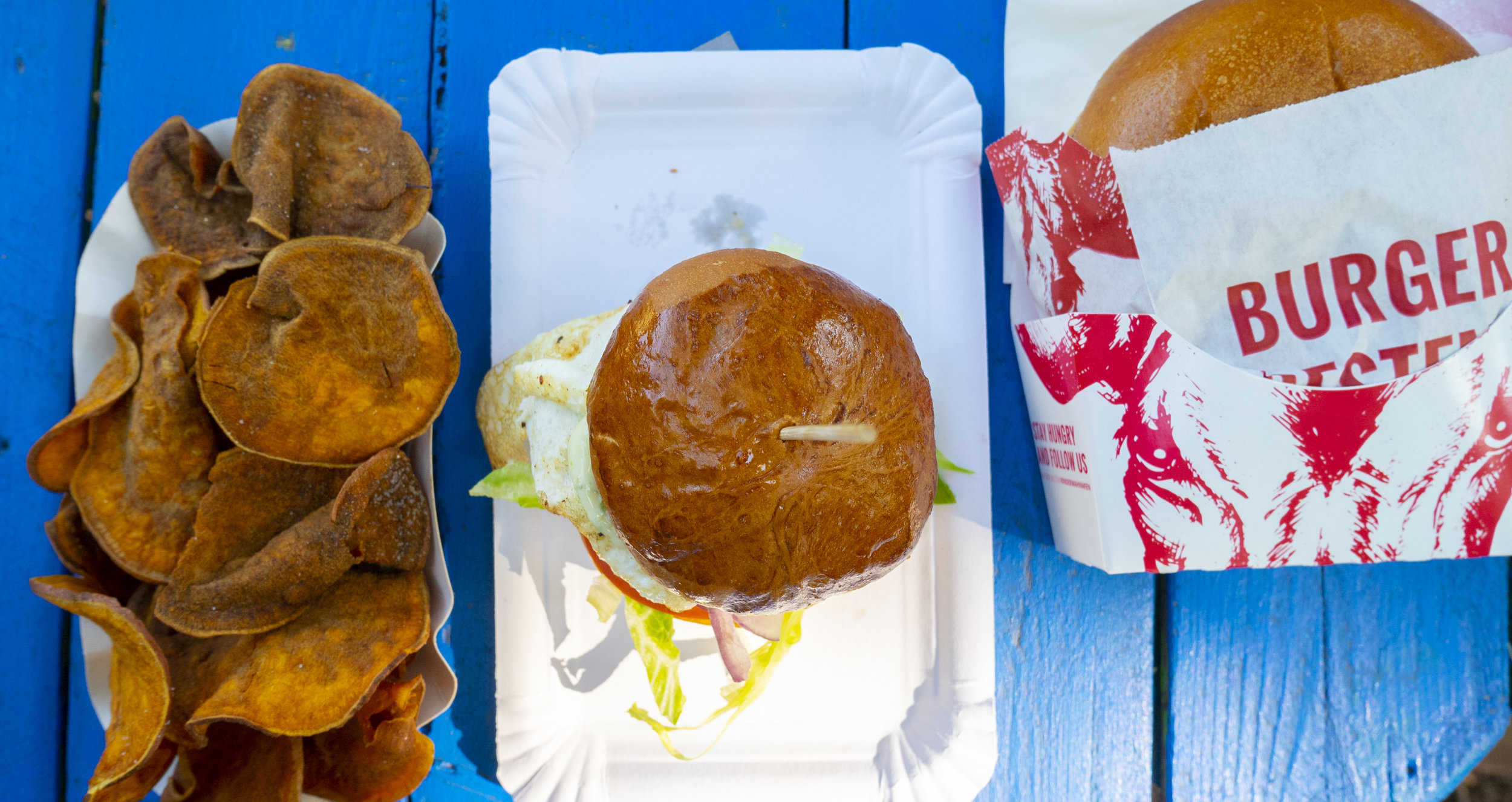 Burger am mEat-Festival