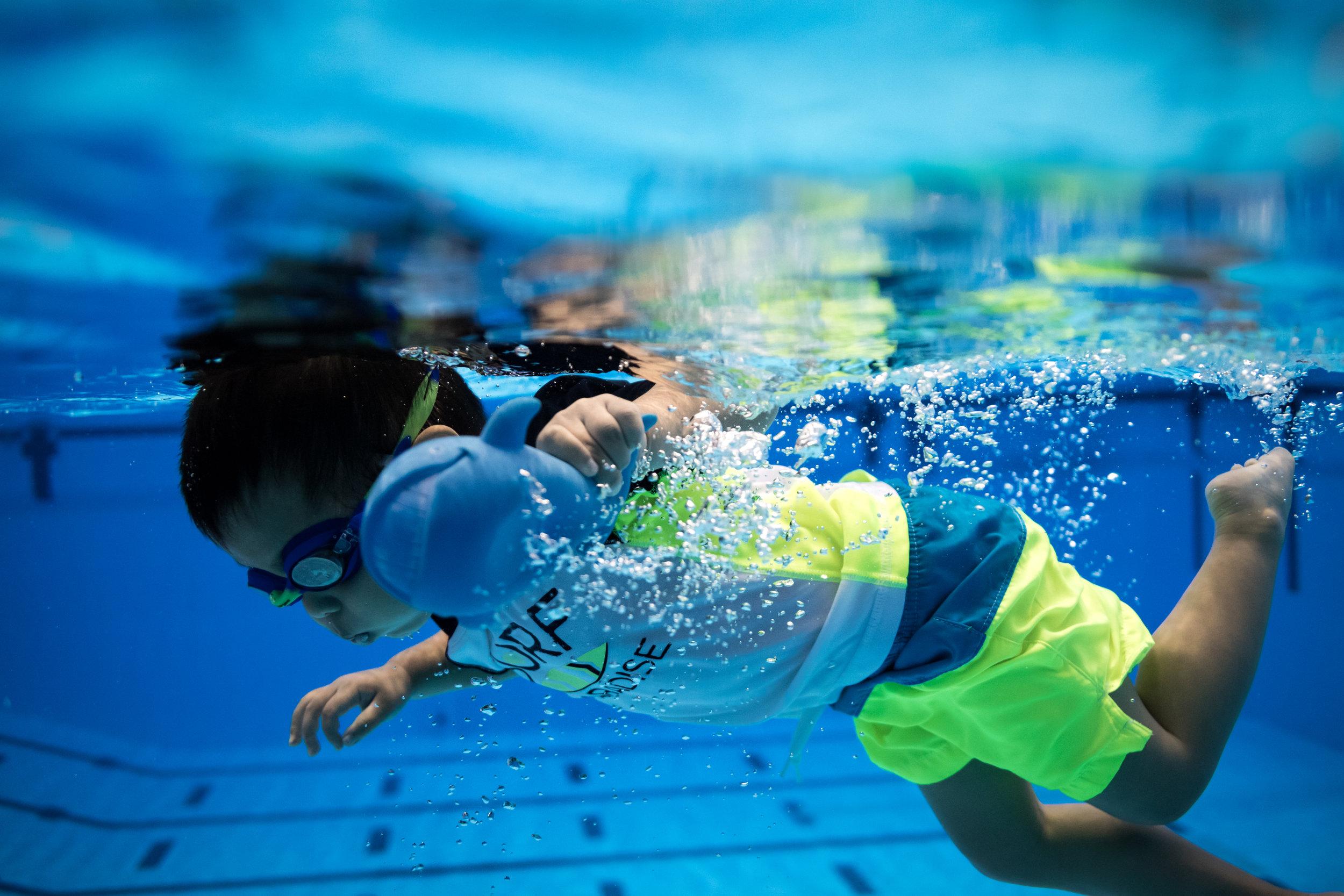 Brady Swimming