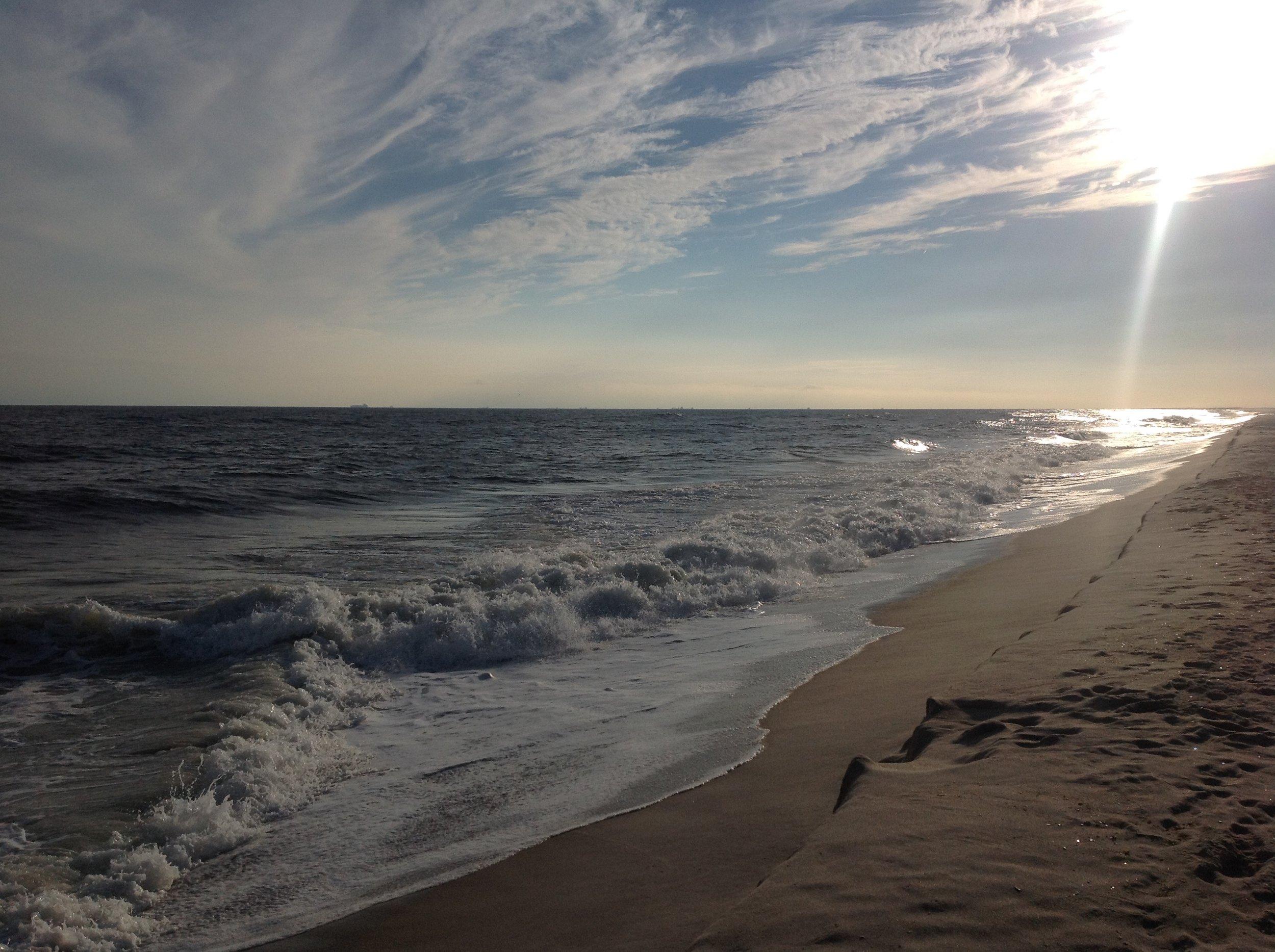Sunset on Jones Beach - Jones Beach Island, NY