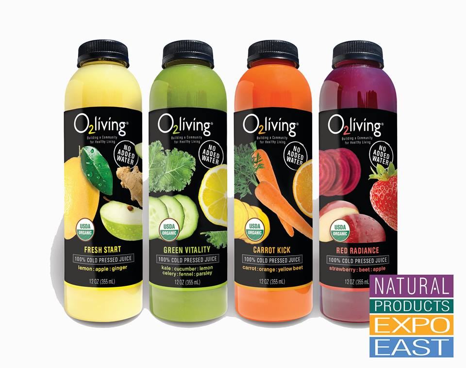 Cold Pressed Living Juice by O2living!