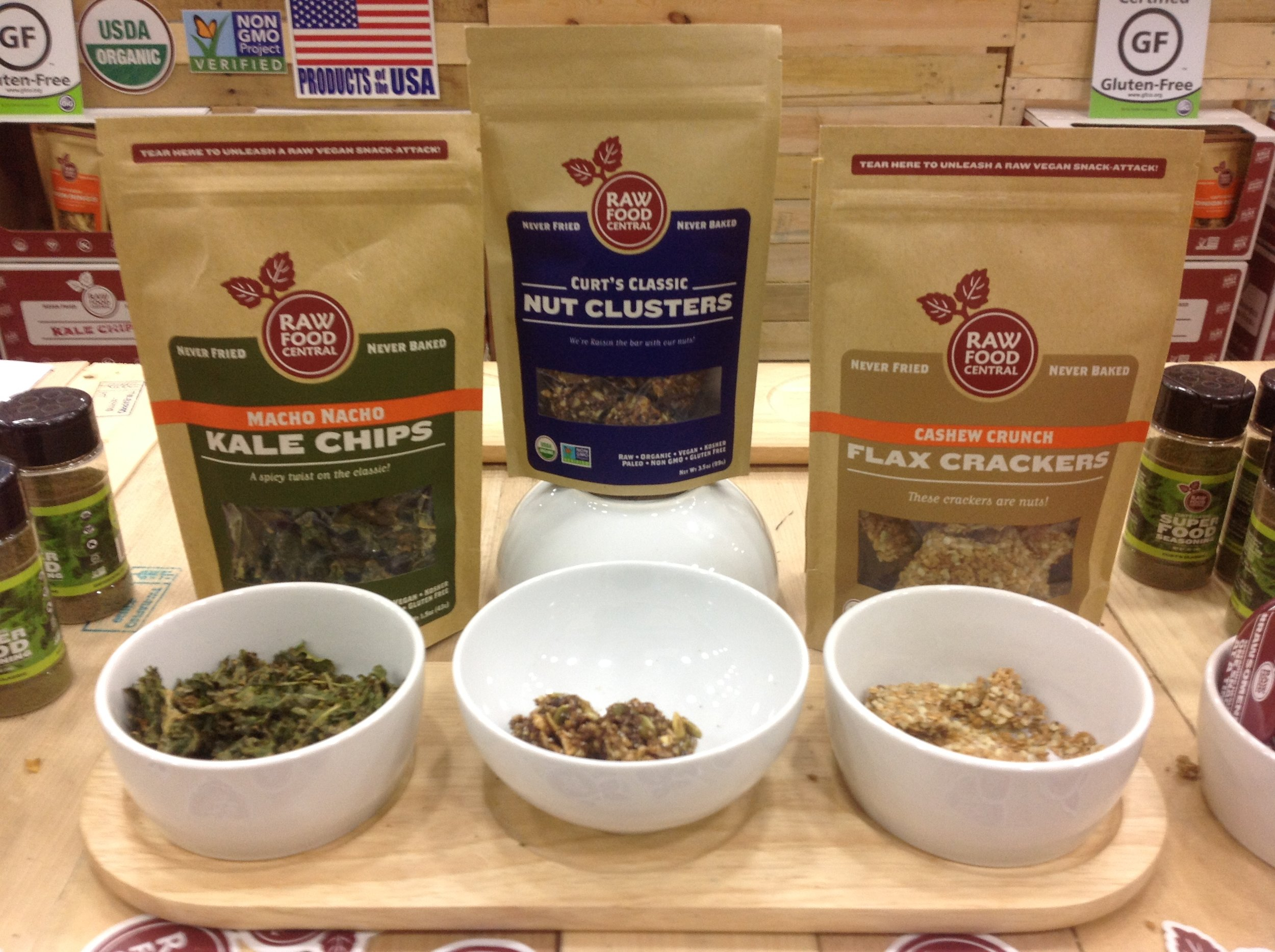 New Nut Clusters by Raw Food Central are where it's at!