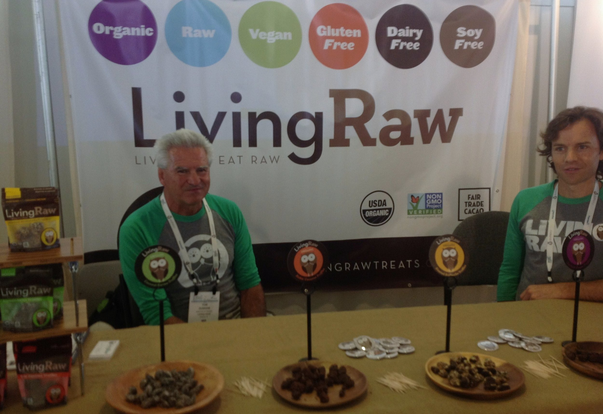 Reward yourself with a Living Raw truffle!